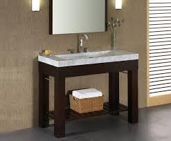 Small Picture white modern bathroom vanity Interior Design Ideas
