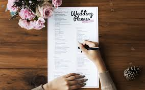 what you need for a wedding checklist your essential wedding checklist planner wedding journal
