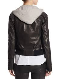 a l c black edison leather cropped jacket and ie lyst view fullscreen