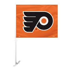 Flyers Flag Nhl Philadelphia Flyers Car Flag With Wall Brackett Car