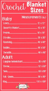 Baby blanket size chart -- with thanks to Rebecca of Little ... & The Complete List of Blanket Sizes & Roundup Adamdwight.com