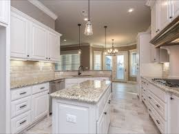 Unique White Kitchen Floor Tiles With Light Travertine Backsplash And Rectangular Inside Simple Ideas
