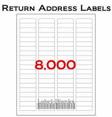 Avery 5167 Labels 8000 Address Labels 100 Sheets Of Compatible Avery 5167 Size
