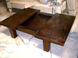 sliding top coffee table sliding coffee table glass bayside furnishings sliding top coffee table