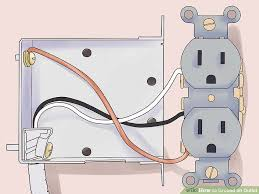 the easiest way to ground an outlet wikihow How To Wire An Outlet In Series image titled ground an outlet step 8 how to wire an outlet in series diagram