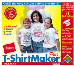 T Shirt Editing Software Hanes T Shirt Maker Deluxe Amazon Ca Software