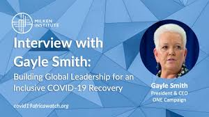 Interview with Gayle Smith: Building Global Leadership for an Inclusive  COVID-19 Recovery | COVID-19 Africa Watch