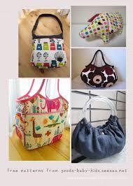 Free Bag Patterns Best Free Bag Patterns Japanese Sewing Pattern Craft Books And Fabrics