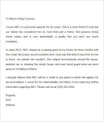 Reference Letter For Friend Recommendation Letter For A Friend