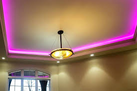 ceiling strip lights led light strips with multi color led tape light with ft 3 led with connector shown installed in ceiling tray ceiling mounted