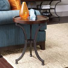 Round Chairside Table Chapin Furniture Barrow Round Chairside Table