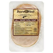 Boars Head Turkey Breast Smoked 7 Oz From Safeway