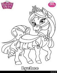 Coloring Pages Coloring Pages Disney Princess Pets Palace Summer