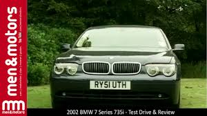 2002 BMW 7 Series 735i - Test Drive & Review - YouTube