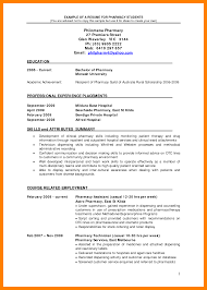 Example Of Pharmacist Resume Pharmacist Resume Hospital Objective Examples 24rd Year Pharmacy 13