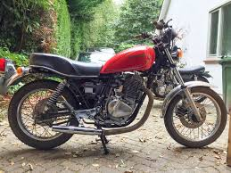 81 suzuki gn400 desert sled build the bikeshed forums heres the bike as she stands today