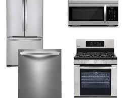 Kitchen Appliances Package Deals Kitchen 4 Piece Stainless Steel Kitchen Appliance Package 00008