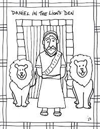 Small Picture Daniel in Lions Den clip art coloring sheet Stushie Art