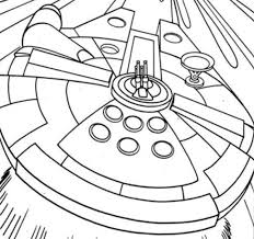 Small Picture Simple Millenium Falcon Star Wars Ship Coloring Pages Action