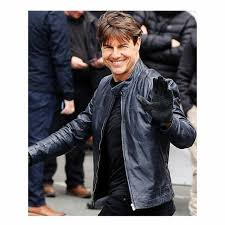 tom cruise mission impossible 5 leather jacket in all sizes gift for