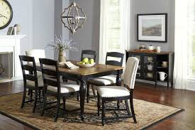 dining tables dining table with upholstered chairs in by castle hill rectangle 6 neo renaissance
