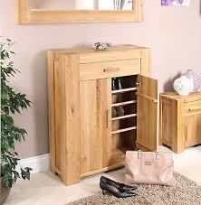 strathmore solid walnut furniture shoe cupboard cabinet. Baumhaus Atlas Solid Oak Shoe Cupboard / Cabinet SECOND (CMR20A) Strathmore Walnut Furniture O