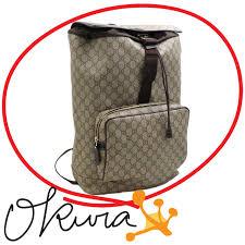 gucci backpack. gucci backpack gg +246,898 beige brown gucci pvc leather joy rucksack bag lady men