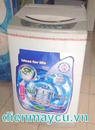Bán máy giặt cũ Sanyo 6,5 kg, bảo hành chính hãng