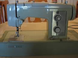 kenmore sewing machine. green sears kenmore sewing machine