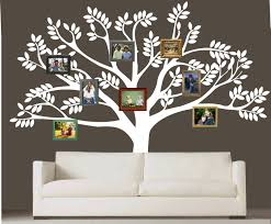 vinyl family tree wall diy vinyl tree wall decal