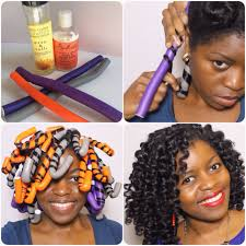 image of straw set hairstyle perfect flexi rod set misst1806 natural hair âœ