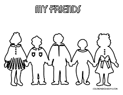 Small Picture Friendship Coloring Pages For Kindergarten Archives Friendship