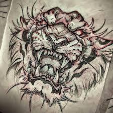 Artwork B животные эскиз тату искусство тату самурайское тату