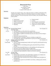 6+ part time job resume | assistant cover letter