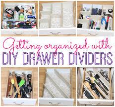 Diy Kitchen Drawer Organizer Diy Drawer Dividers