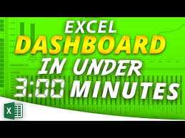 Pivot Chart Youtube How To Create An Interactive Excel Dashboard In Less Than 3