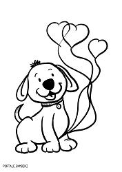 Disegni Di Cani Da Colorare Portale Bambini