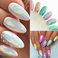 CH Shinning Nail Art Mirror Powder Chrome Pigment Glitters ...