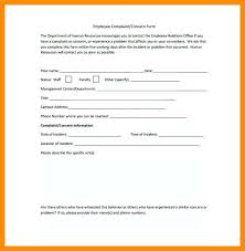 Hr Complaint Form Template – Mobstr