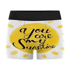 Mens Boxer Brief Size Chart Interestprint Mens Boxer Briefs Valentine Day You Are My