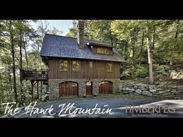 the hawk mountain timber frame home