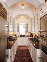 Small Galley Kitchen Design Cozy Small Galley Kitchen Ideas With Nice Rugs Galley Kitchen