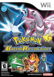 pokémon battle revolution coverart png