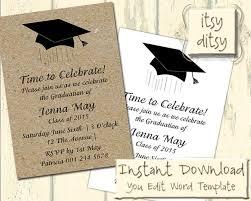 Invitaciones De Graduacion Para Imprimir Invitacion Para Grado Tarjetas De Invitacion Para Grado 2