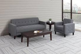 Office couches Orange Piccolo Series Reception Sofa Set Madison Liquidators Commercial Couches Office Sofas For Great First Impressions