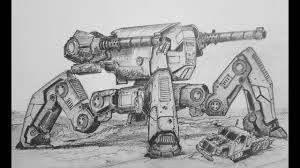How To Draw Raijin War Robots Youtube