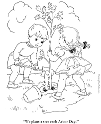 Small Picture Tree Coloring Pages Coloring Coloring Pages