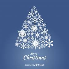 Christmas background with christmas tree from snowflakes. Free Lovely Christmas Tree With Snowflakes Svg Dxf Eps Png Vector Svg File Free Download