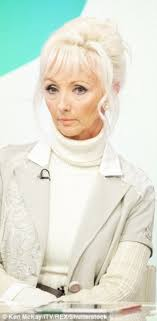 Paul Daniels\u0027 widow Debbie McGee has a cosy exchange with ...
