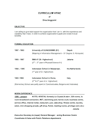 Good Objective On A Resume Great Resume Objective Statements